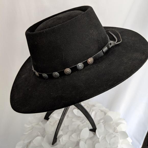 c649968660dfa M 5c4f7bbf2e147801e2c8fe50. Other Accessories you may like. Stetson 4x  Beaver Black Felt Hat